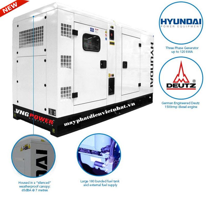 Cấu tạo máy phát điện hyundai
