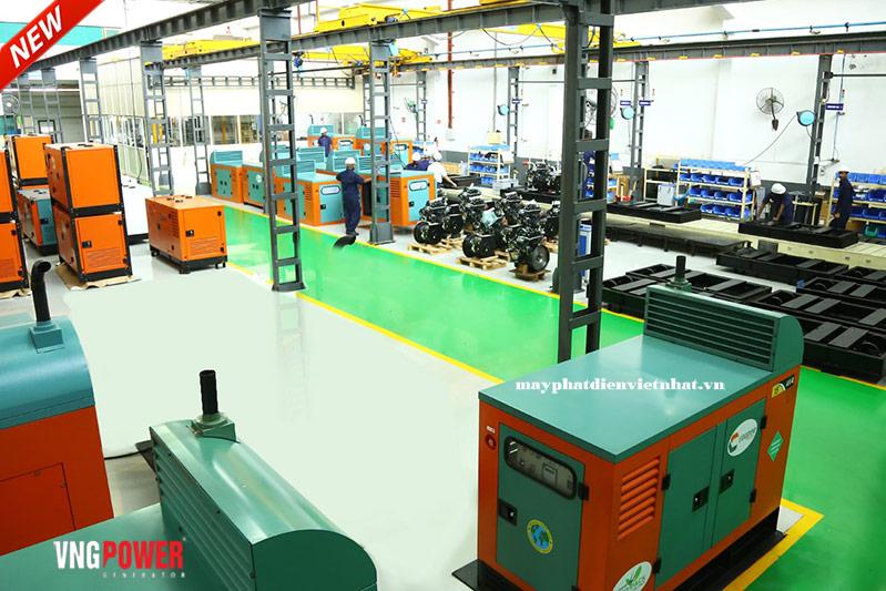 Công ty sản xuất máy phát điện uy tín tại việt nam