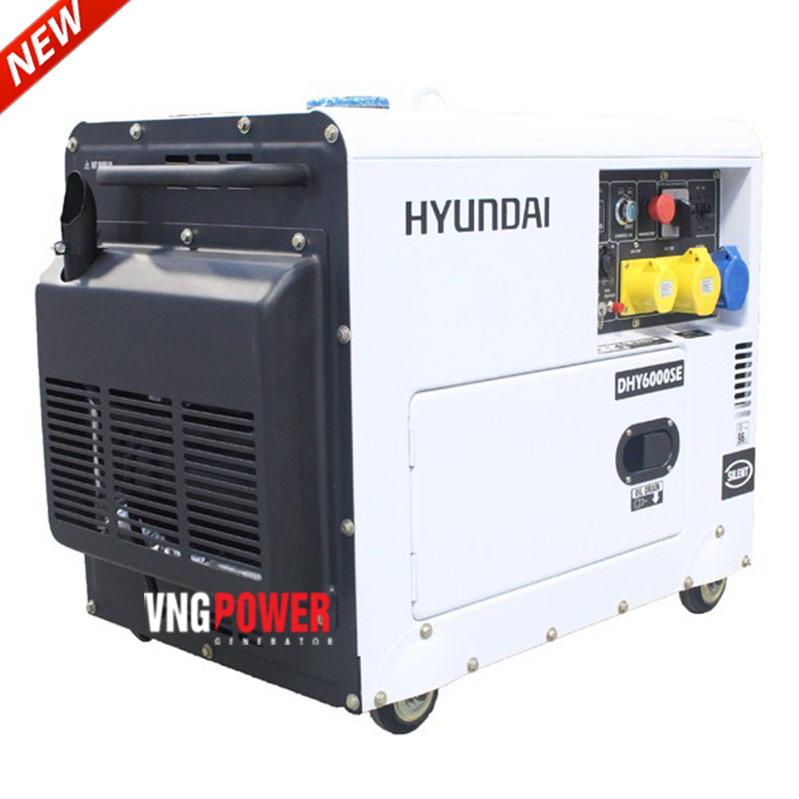 Đại lý máy phát điện Hyundai chính hãng