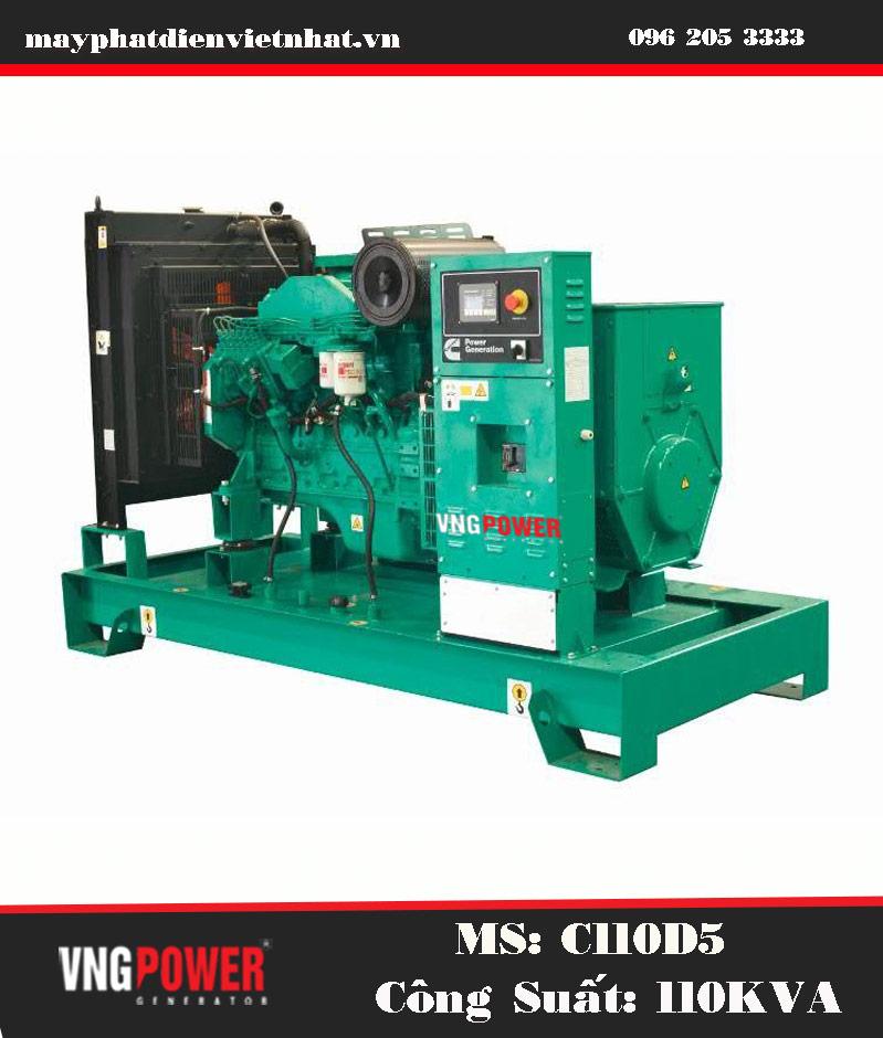 máy phát điện 100kva cummins power