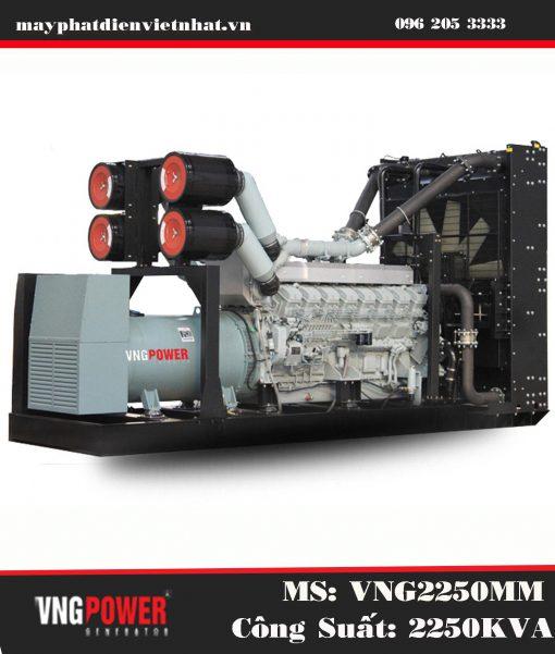 Máy phát điện Mitsubishi 2250kva Mới Chính Hãng