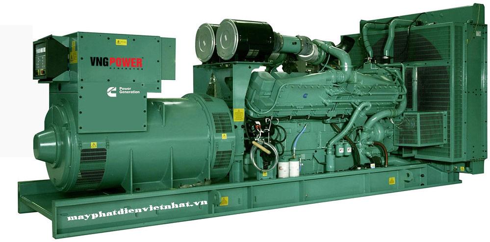 máy phát điện công nghiệp 1250kva tại hà nội