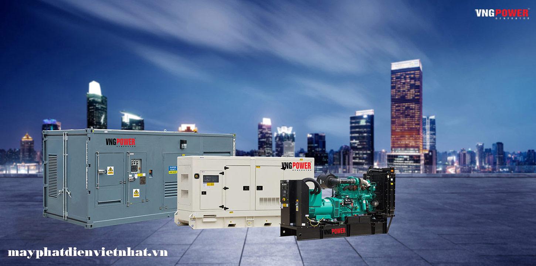 giá máy phát điện công suất lớn