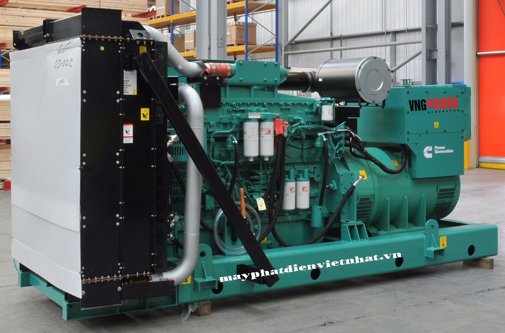 máy phát điện công nghiệp 1000kva hà nội