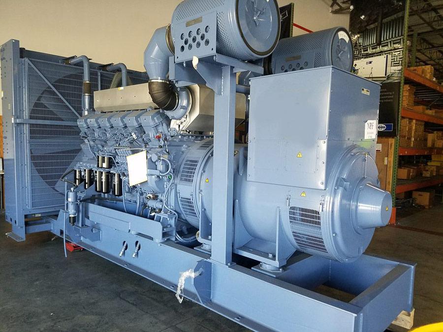 Máy phát điện công nghiệp công suất lớn mitsubishi