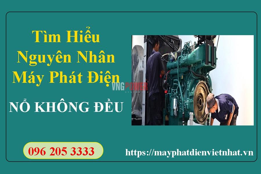 may-phat-dien-no-khong-deu