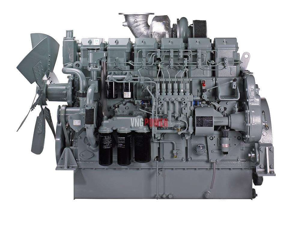 cấu tạo máy phát điện mitsubishi