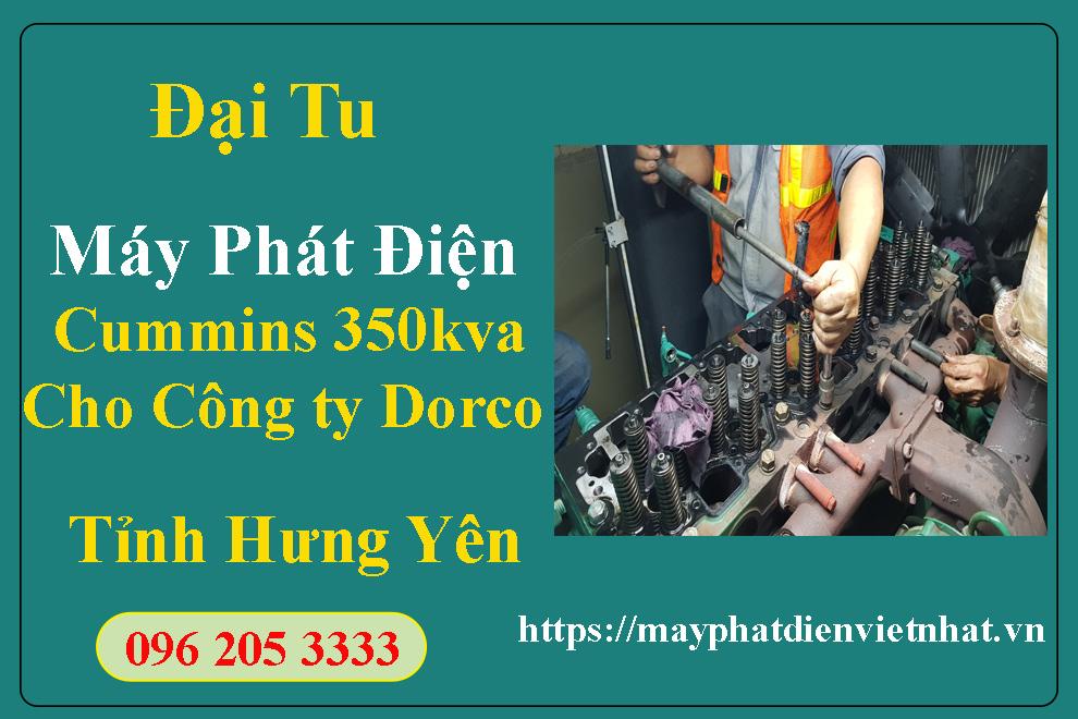 Dự-Án-Đại-Tu-Máy-Phát-Điện-Công-Ty-Dorco-Vina-Tại-Hưng-Yên