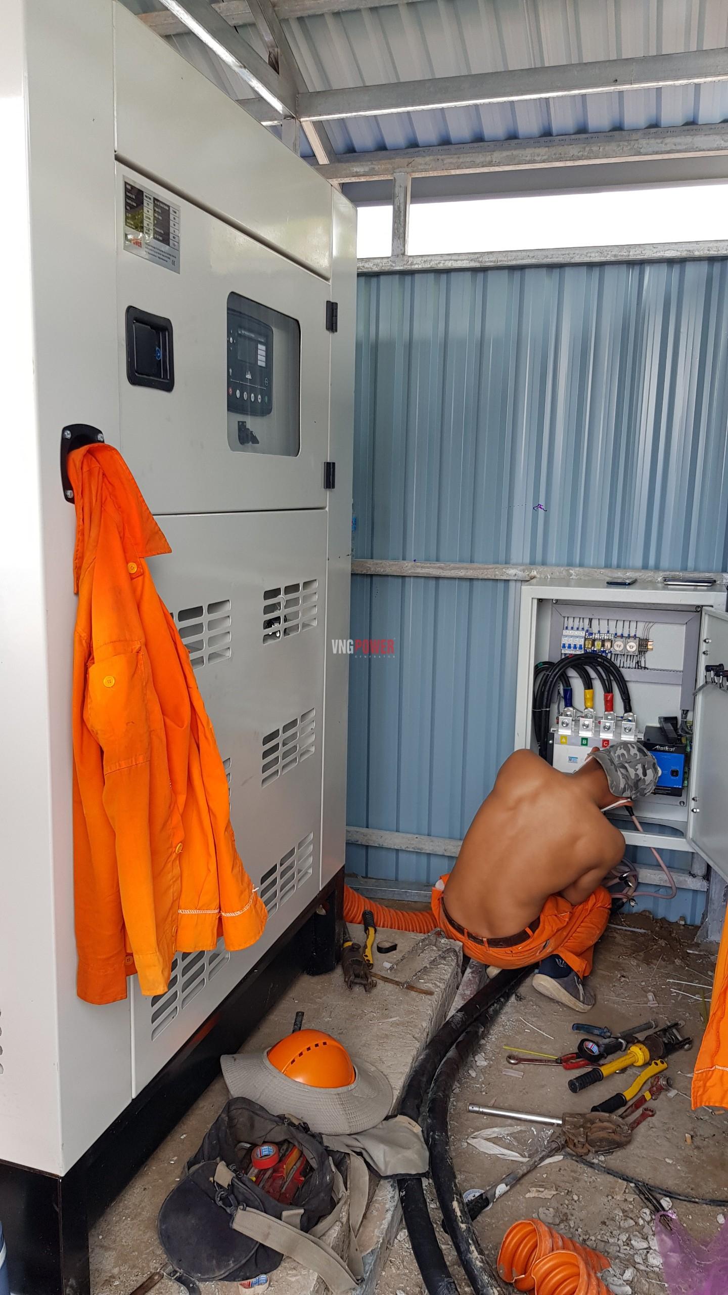 Dự án Máy phát điện 275Kva Bệnh Viện Dã Chiến An Giang 7
